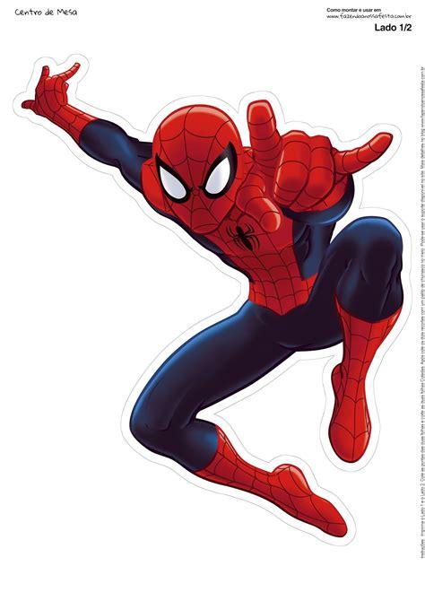 spiderman  printable centerpiece   fiesta