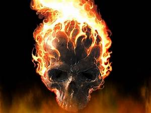 Fire Skull Wallpapers - Wallpaper Cave