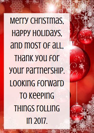 ca christmas welcome message business thank you messages exles for cards messages and business