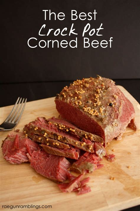 the best crock pot corned beef recipe gun ramblings