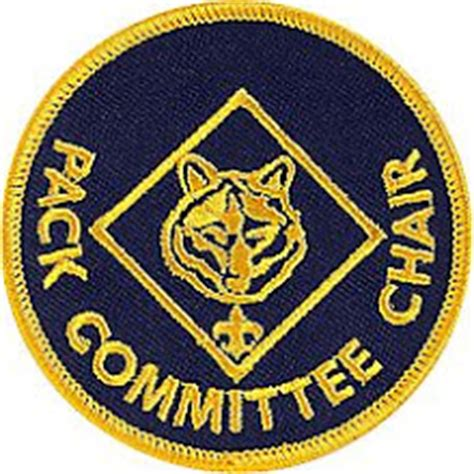 cub scout committee chair patch placement pack 574 news