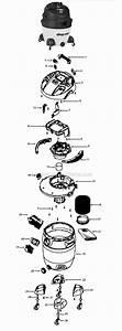 Shop-vac 16rht650c Parts List And Diagram