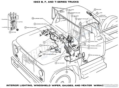 1963 ford truck wiring diagrams fordification info the 61 66 ford resource