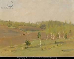 The Tilled Field, Spring - Isaak Ilyich Levitan ...