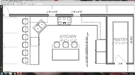 kitchen floor plans with walk in pantry walk pantry facing kitchen which don building plans 9797
