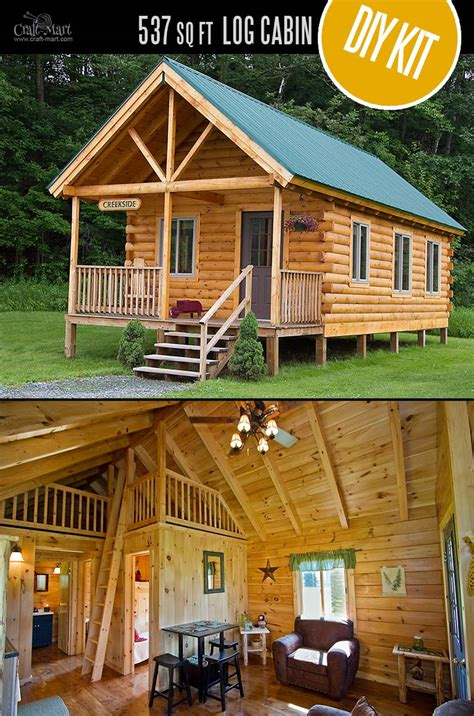Tiny House Kit by Tiny Log Cabin Kits Easy Diy Project Craft Mart