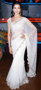 Amazing White Saree Costumes For Wedding Events Trendyoutlook Com