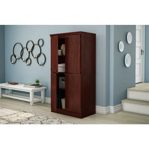 cabinets to go freeport south shore morgan royal cherry storage cabinet 7246971