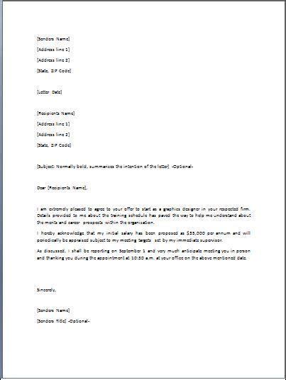 job offer letter    document