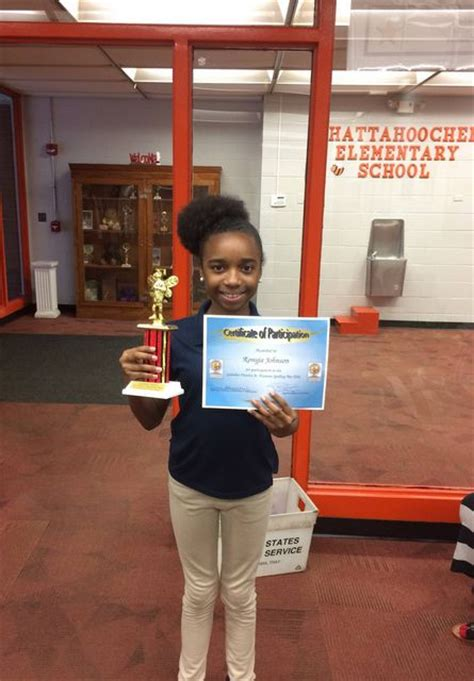 chattahoochee elementary school latest news ces spelling bee winner