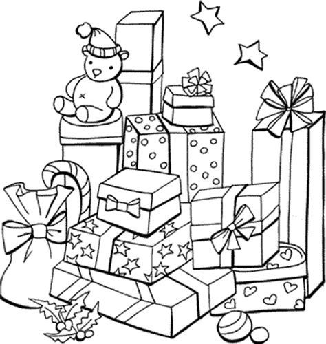 presents coloring page az coloring pages