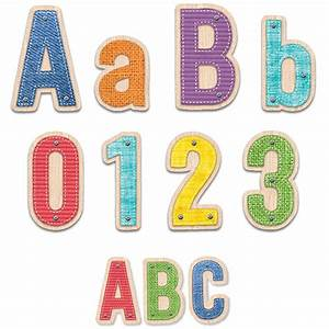 upcycle style letters pk 4in punch out letters 2in With punch out letters
