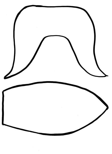 handprint template printable   clip art
