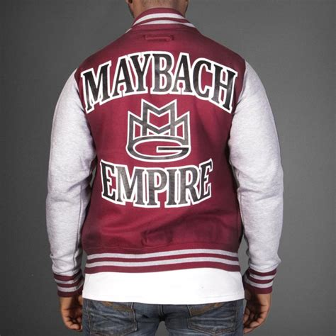 Maybach Music Group Mmg Varsity Jacket