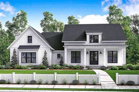 farmhouse building plans budget modern farmhouse plan with bonus room