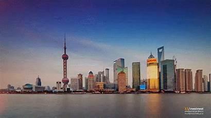 Shanghai Night Lapse Gifs China Imgur International