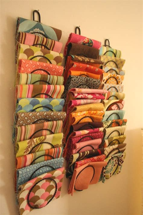 fabric storage ideas  scrap shoppe