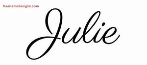 julie Archives - Free Name Designs