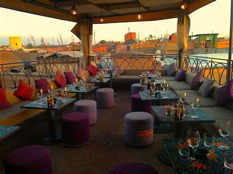 cuisine lounge le café arabe marrakech une des meilleures adresses de