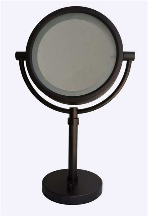 Sided Bathroom Mirror by Urbanest 8 Quot Dual Sided Led Bathroom Vanity Mirror 10x 1x