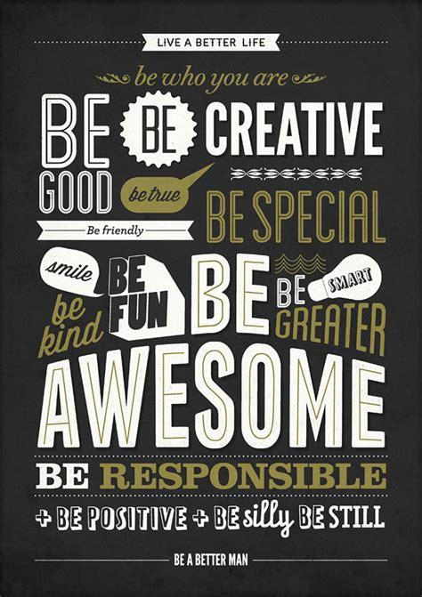 inspirasi desain quote typografi terbaru