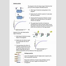 Outstanding Lesson On Enzyme Inhibitors By Mjk105  Teaching Resources Tes