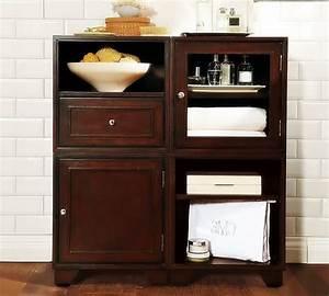 Bathroom, Storage, Cabinets, Floor