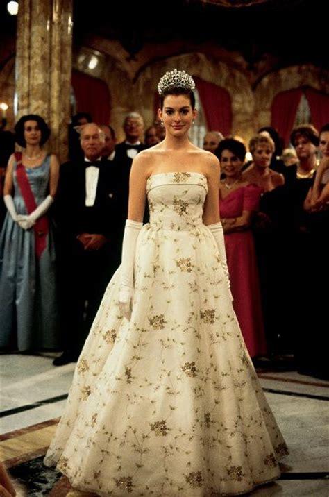 diario de una princesa vestidos