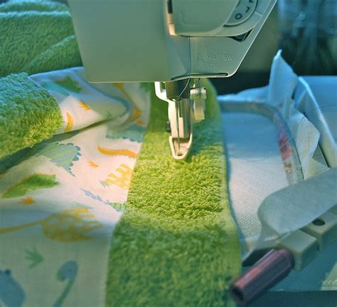 Machine Embroidery On Towel