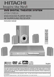 Hitachi Htdk 170 Home Theater Download Manual For Free Now