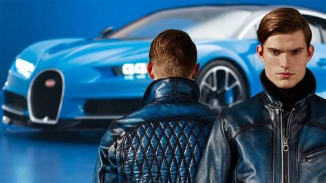 Bugatti chose the 2014 pebble beach concours d'elegance and the quail, a motorsports gathering satellite event as the place to unveil all six of its legends special edition veyrons for the very first time. The Chiron-inspired Ettore Bugatti Luxury Clothing Collection
