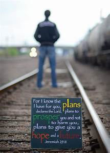 jeremiah 29 11 for i the plans i for you wood sign