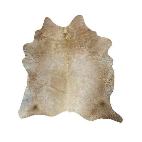 Large Cowhide Rug by Southwest Rugs Large Chagne Cowhide Rug