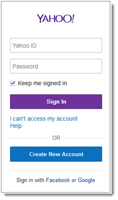 Yahoo Mail Sign In   Yahoo.com Email Login