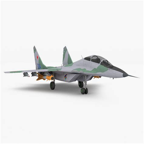 Mig 29 Russian Fighter Aircraft 3d C4d