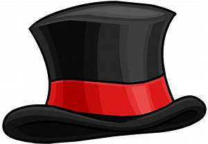 Drawn top hat transparent - Pencil and in color drawn top ...