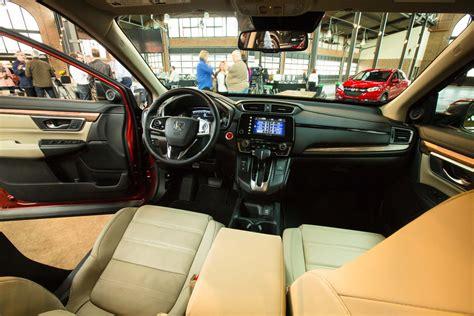 honda crv 2017 interior 2017 honda cr v first look overview automobile magazine