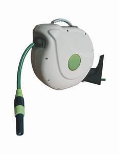 Enrouleur Tuyau Arrosage Brico Depot : enrouleur automatique de tuyau d 39 arrosage 30m ~ Dailycaller-alerts.com Idées de Décoration