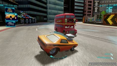 Cars 2 The Video Game Snot Rod Hyde Tour
