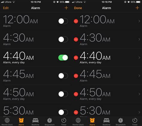 change alarm sound iphone how to fix alarm not ringing on ios 11