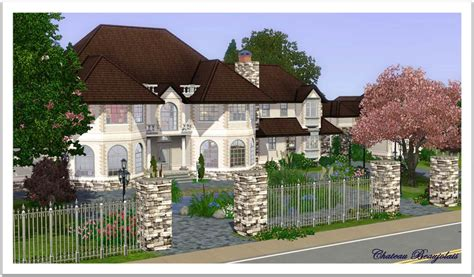 kitchen island plans mod the sims chateau beaujolais manor