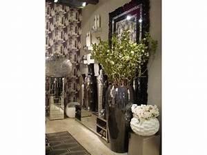 Grand Vase Design : objets de d coration grand vase en m tal l 41 x h 100 cm 47111 ~ Teatrodelosmanantiales.com Idées de Décoration
