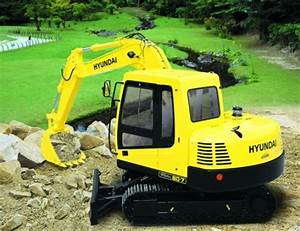 Hyundai R80 7 Crawler Excavator Factory Service Repair Manual Instant Download