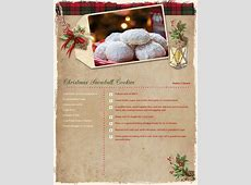 Christmas Recipe Card Ideas Blue Mountain