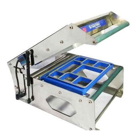 tray sealing machine thali packing machine manufacturer  delhi