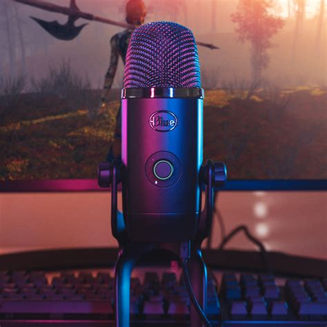 Blue Yeti X is a pro USB microphone for vlogging, gaming ...