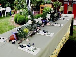 Tischdeko Zum Geburtstag : diese tischdeko habe ich mir zum 60 geburtstag meines mannes ausgedacht da es sommer war ~ Watch28wear.com Haus und Dekorationen