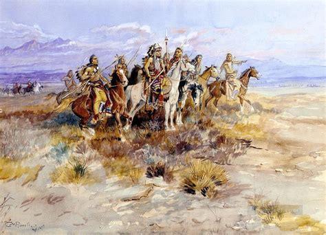 Ureinwohner Amerikas Indianer 35 Gemälde mit öl zu verkaufen
