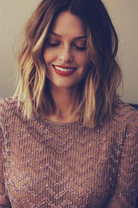 stylish lob hairstyle ideas  shoulder length hair