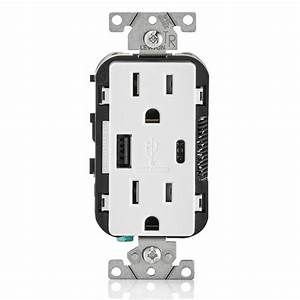 Combination Duplex Receptacle  Outlet And Usb Charger  15